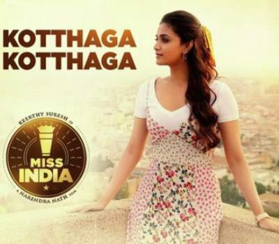 Kothaga Kothaga Song Lyrics Miss India