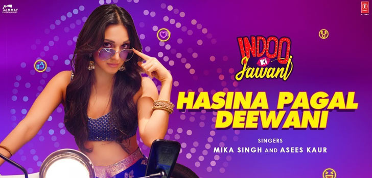 Hasina Pagal Deewani Lyrics in Hindi